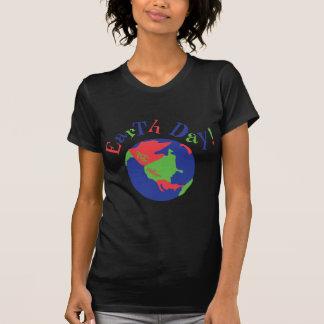 Earth Day Globe T-shirts