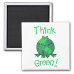 Earth Day Green Environment T-Shirts Refrigerator Magnets