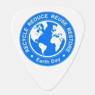 Earth Day Plectrum