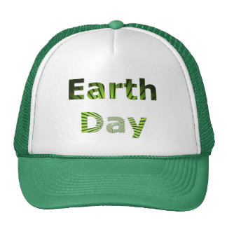 Earth Day Mesh Hat