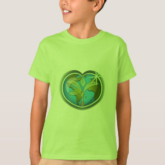 Earth Day Heart T-Shirt