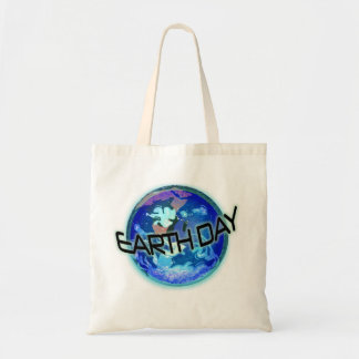 Earth Day in Blues Tote Bag