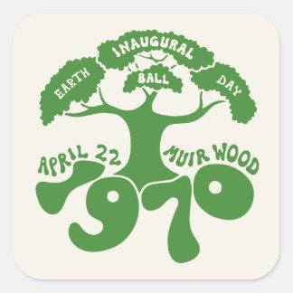 Earth Day Inaugural Ball Square Sticker