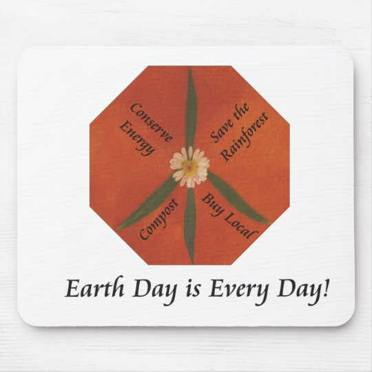 Earth Day is Every Day Mouse Mat
