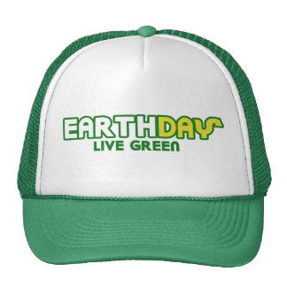 Earth Day Live Green Parody environmentalist Cap