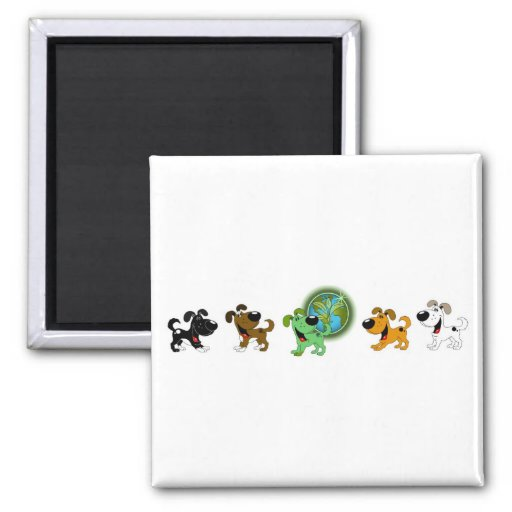 Earth Day Refrigerator Magnets