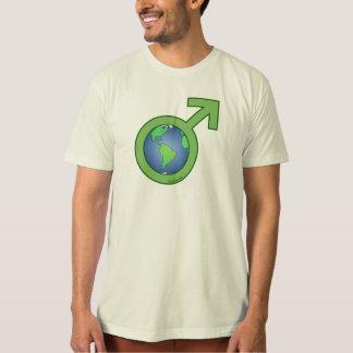 Earth Day Man Tshirts