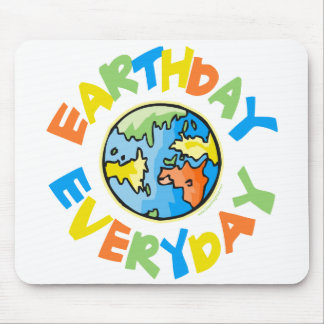 Earth Day Mouse Pads