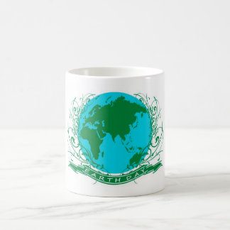 earth day classic white coffee mug