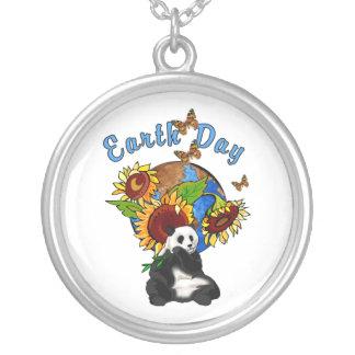 Earth Day Panda Planet Custom Necklace