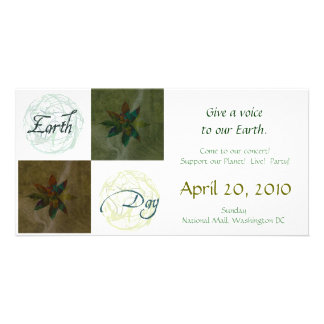 Earth Day Personalized Photo Card