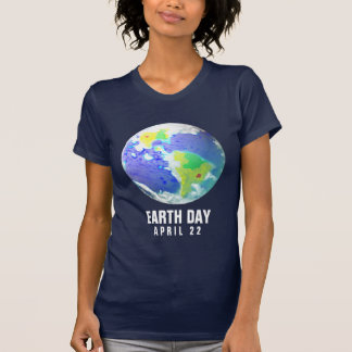 EARTH DAY PLANET ART APRIL 22 T SHIRT
