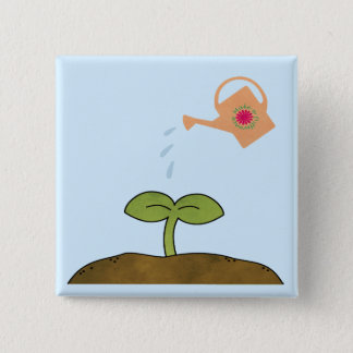 Earth Day Plant trees Make a Difference Button