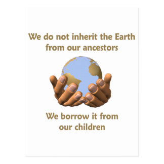 Earth Day Postcard