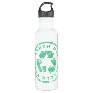 Earth Day Recycle Team 710 Ml Water Bottle
