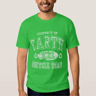 Earth Day Recycle Team Shirts