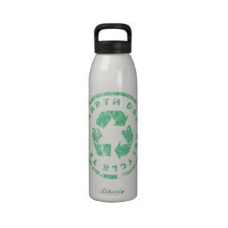 Earth Day Recycle Team Drinking Bottles