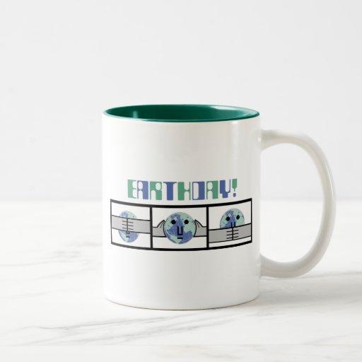 Earth Day- See No Evil Coffee Mug