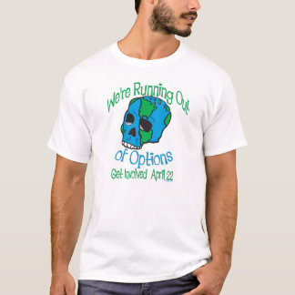 Earth Day Skull Tees