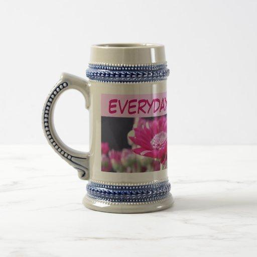 earth day stein mug