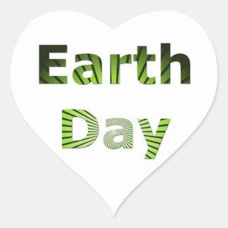 Earth Day Sticker
