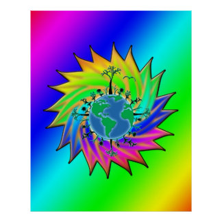 Earth Day ~ Sunburst Poster