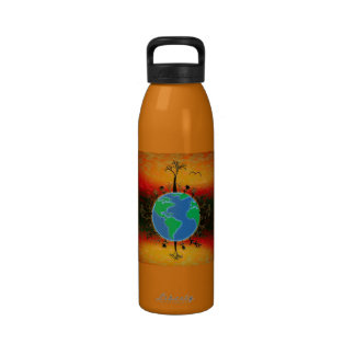 Earth Day ~ Sunset Reusable Water Bottles