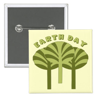 Earth Day T Shirts and Gifts 15 Cm Square Badge