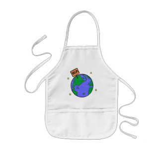 Earth Day T Shirts and Gifts Kids Apron
