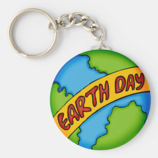 Earth Day T Shirts and Gifts Key Ring