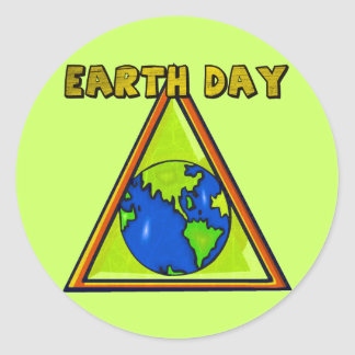 Earth Day T Shirts and Gifts Sticker