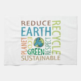 Earth Day Tea Towel