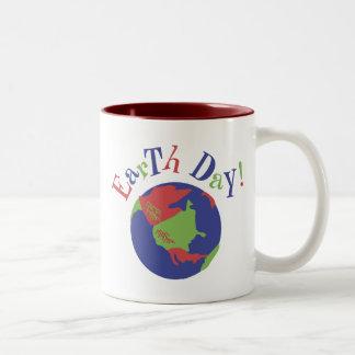 Earth Day Two-Tone Mug