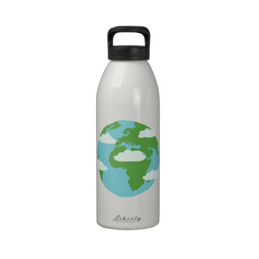EARTH DAY DRINKING BOTTLES