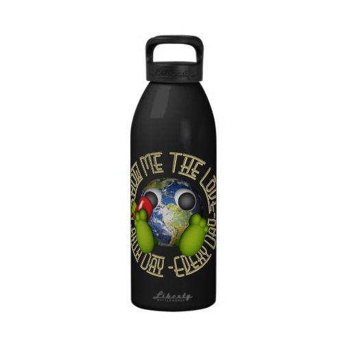 Earth Day Reusable Water Bottle
