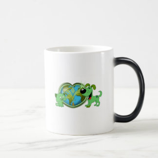 Earth Day with Leaf and Blade Coffee Mugs