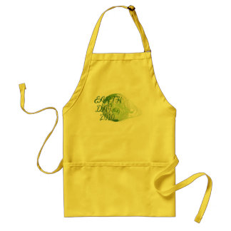 Earth Day with Scrollwork Standard Apron
