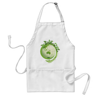 Earth Day with Vines Standard Apron