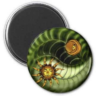 Earth Day Yin Yang Magnet