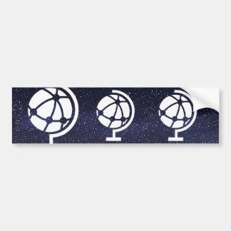 Earth Discoveries Pictograph Bumper Sticker
