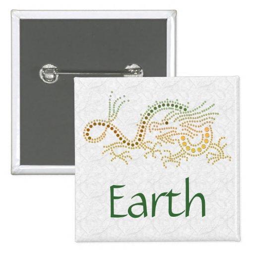 Earth Dragon Pins