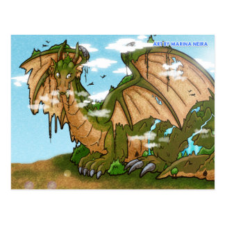 Earth Dragon Mountain Postcard