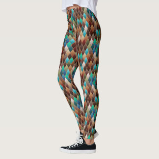 Earth Dragon Scales Leggings