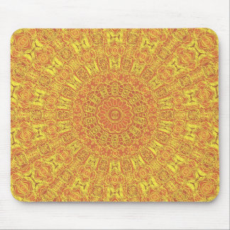 EARTH Element Contours Pattern Mouse Pad