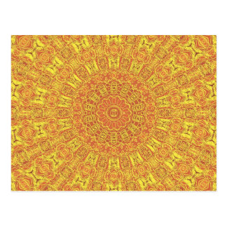 EARTH Element Contours Pattern Postcard