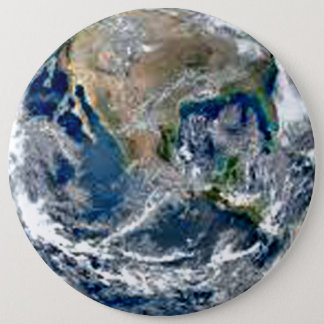 Earth First 6 Cm Round Badge