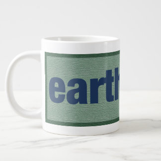 earth first. large coffee mug