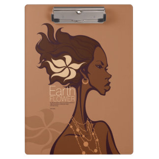 EARTH FLOWER CLIPBOARD