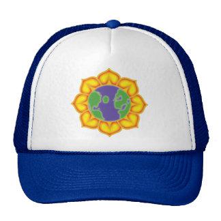 Earth Flower Trucker Hats