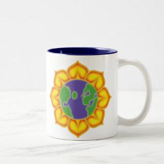 Earth Flower Coffee Mugs